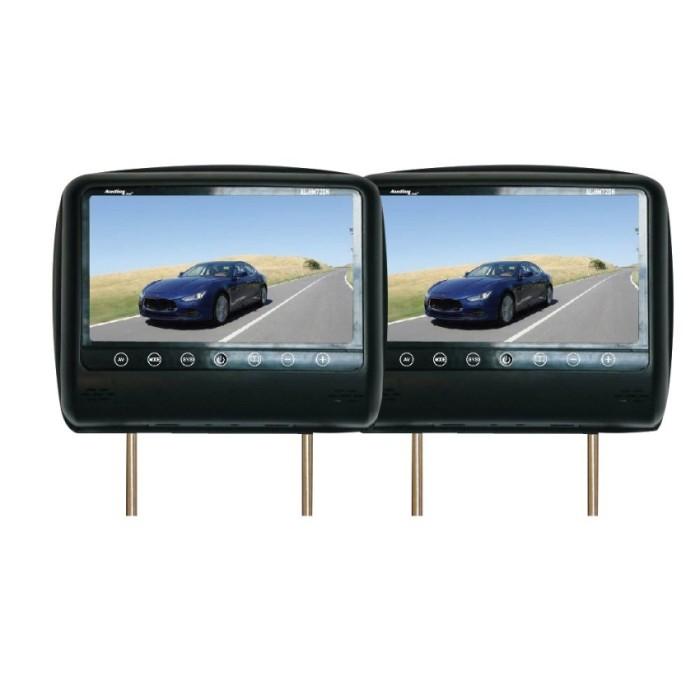 Jual Audiolink Al-Hm720n – 7  Headrest Slim Monitor – Hitam Harga Promo Terbaru