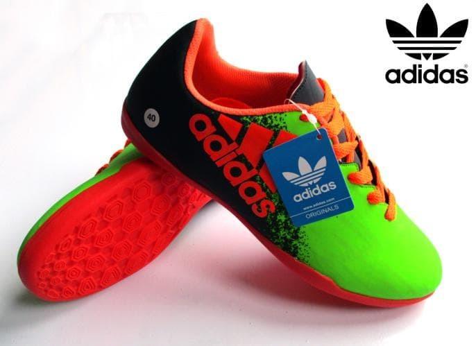 sports shoes 6af9c ed00f Jual Product Unggulan Sepatu Futsal Adidas Techfit Nsg X Hijau Stabilo -  bigfootstore | Tokopedia
