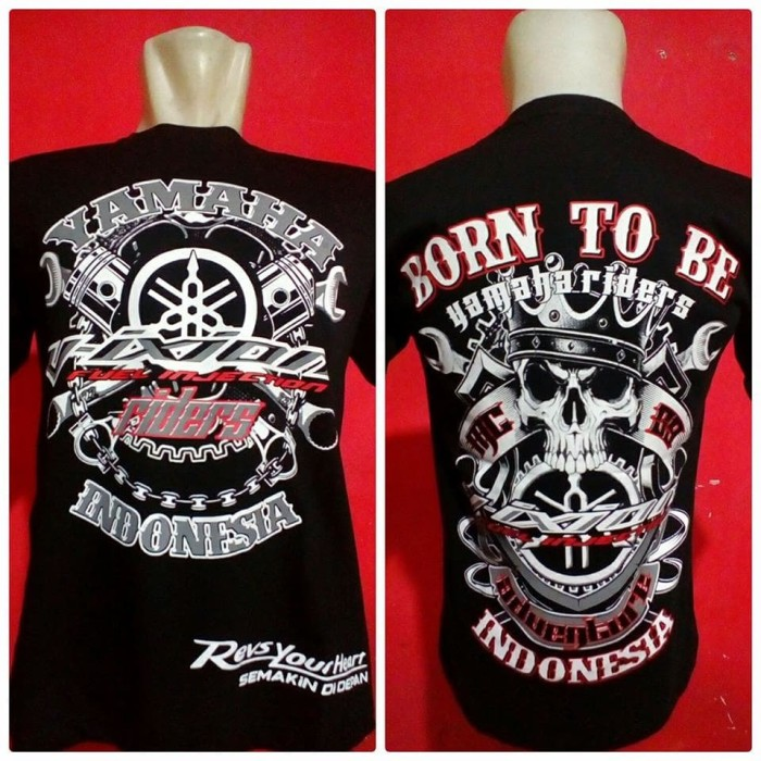 harga Kaos vixion t-shirt bikers vixion baju yamaha vixion 005 Tokopedia.com