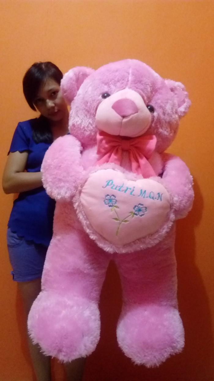 Jual Boneka Cantik Lucu Imut beruang teddy bear uk jumbo besar 1m ... e088bbd346