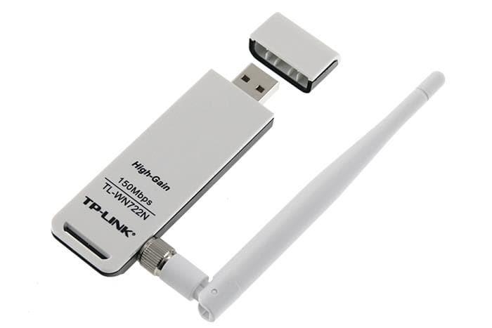 Jual Wireless USB Adapter TP-LINK TL-WN722N (ANTENNA) - USB WIFI Receiver -  Kota Medan - Nefand   Tokopedia