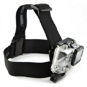 harga Elastic head strap with simple anti-slide glue xiaomi y/gopro Tokopedia.com