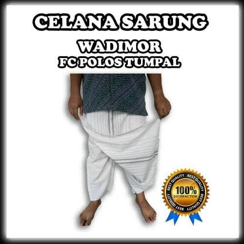 Celana sarung muslim dewasa wadimor