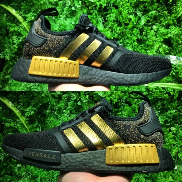 best service 6e8d7 2c5ae Jual Adidas NMD R1 x Versace Gold UNAUTHORIZED UA Real BASF BOOST PK - DKI  Jakarta - DeLux_Store | Tokopedia
