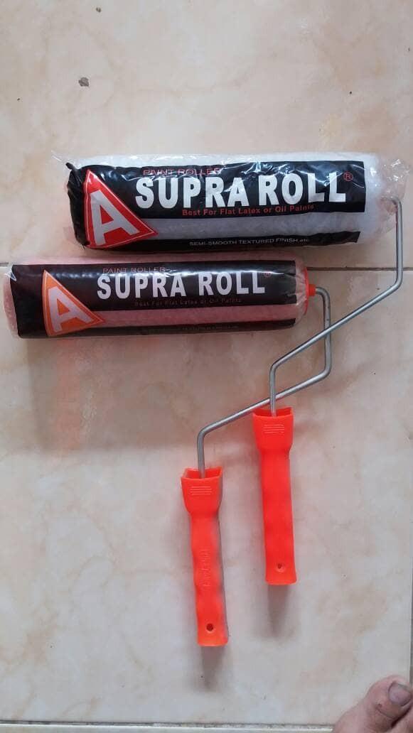 harga Roll cat tembok supra besar Tokopedia.com