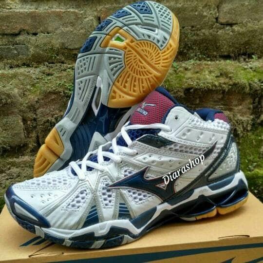 Jual Sepatu Mizuno Wave Tornado 9 Mid Original (Sepatu Voli b60d389ad6