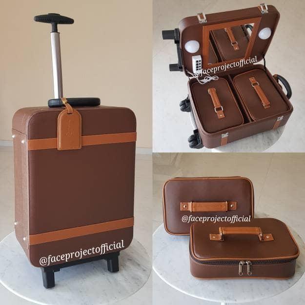 harga Koper Make Up Beauty Case Makeup Kotak Rias Tas Kosmetik Makeup Box Tokopedia.com