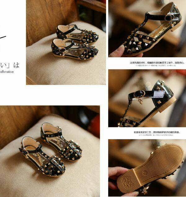 harga Sepatu sandal anak perempuan sepatu sendal pesta dan santai Tokopedia.com