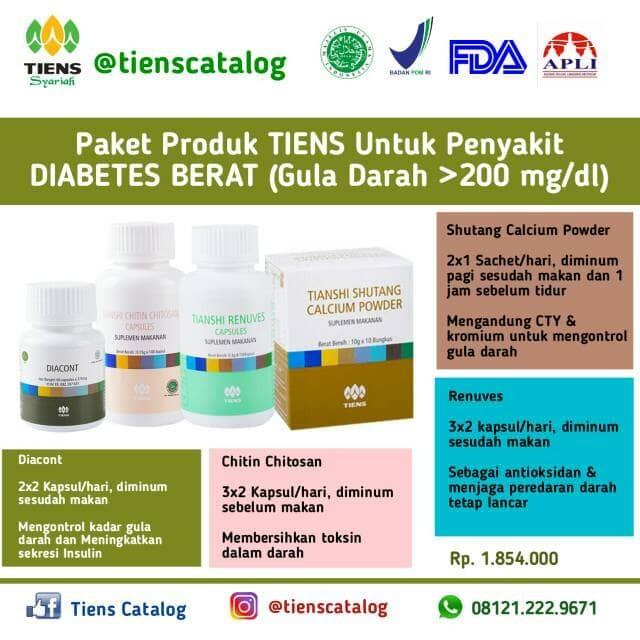 produk untuk diabetes