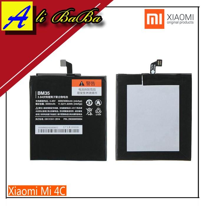 harga Baterai handphone xiaomi mi4c bm35 batre hp battery xiaomi original Tokopedia.com