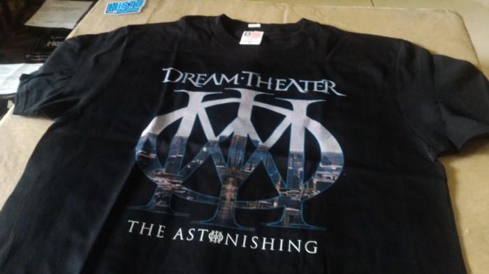 harga Kaos band rock dream theater the astonishing  - dt37 bk Tokopedia.com