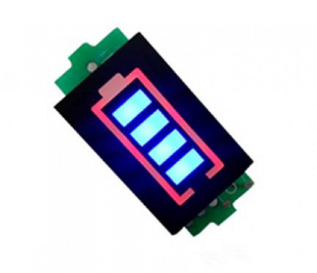 harga 7.4v 2s li-po battery indicator display board power storage monitor Tokopedia.com