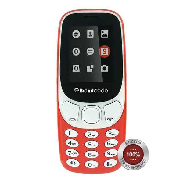 harga Brandcode b3310 new dual sim gsm - orange - garansi resmi Tokopedia.com