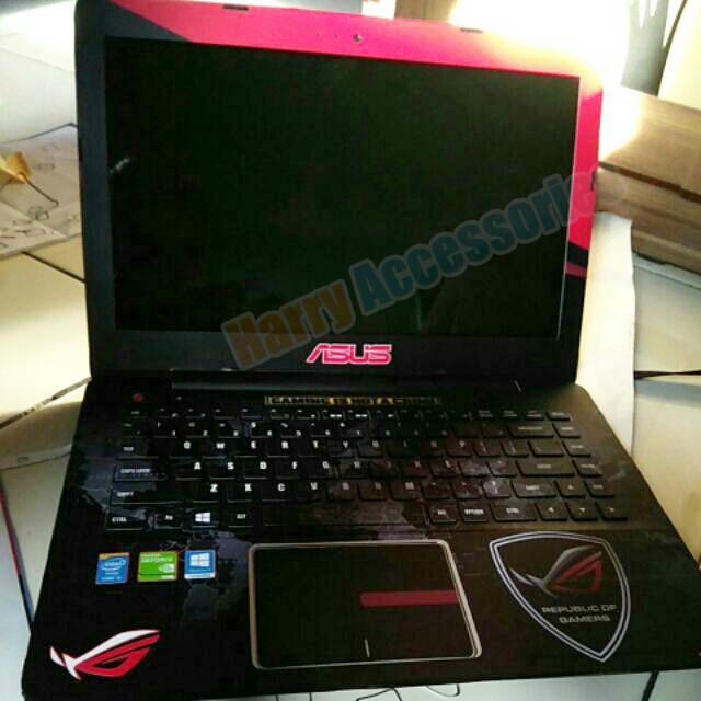 harga Real pic original garskin laptop full body asus x455l motif gamer Tokopedia.com