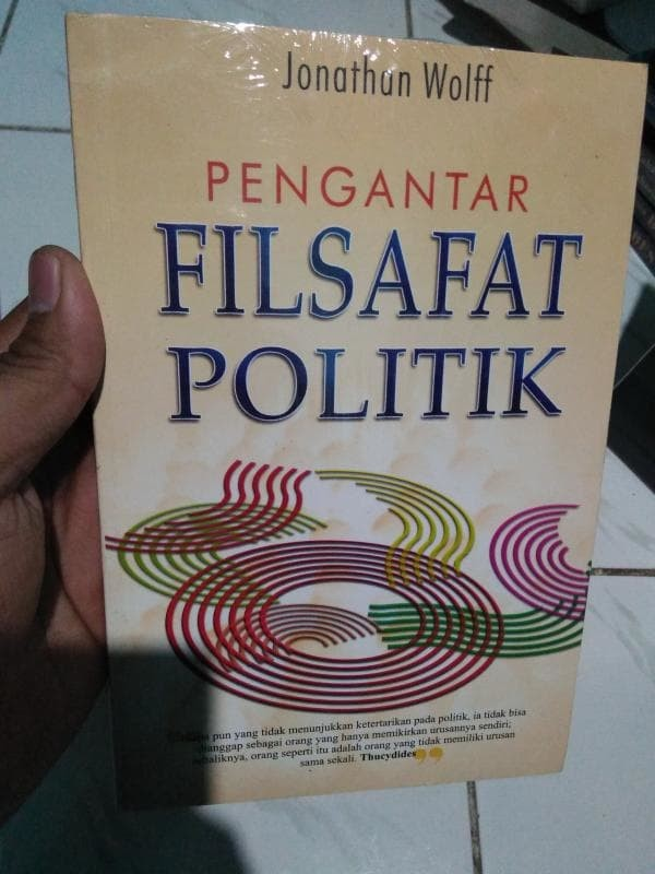harga Pengantar filsafat politik - jonathan wolff Tokopedia.com