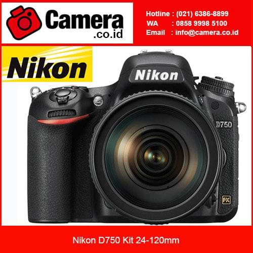 ... harga Nikon d750 kit 24-120mm / kamera nikon slr/ kamera full frame Tokopedia