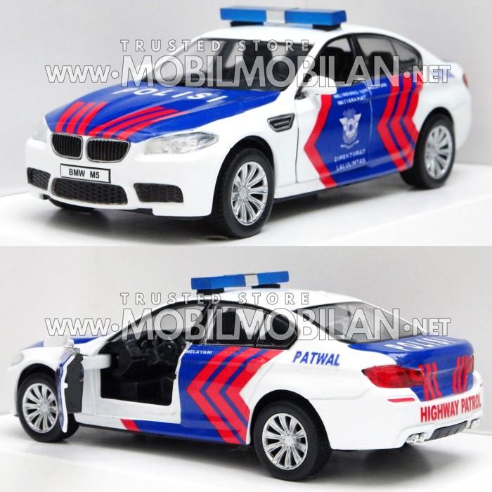 Jual Diecast BMW Miniatur Mobil Patwal PJR Polantas Lantas ...