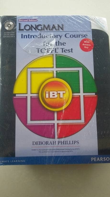 harga Longman introductory course for toefl test: ibt 2nd ed. with answer Tokopedia.com
