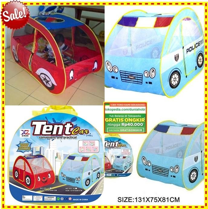 harga Tenda mandi bola,tenda camping,tenda kemah,tenda anak,tenda cars biru Tokopedia.com
