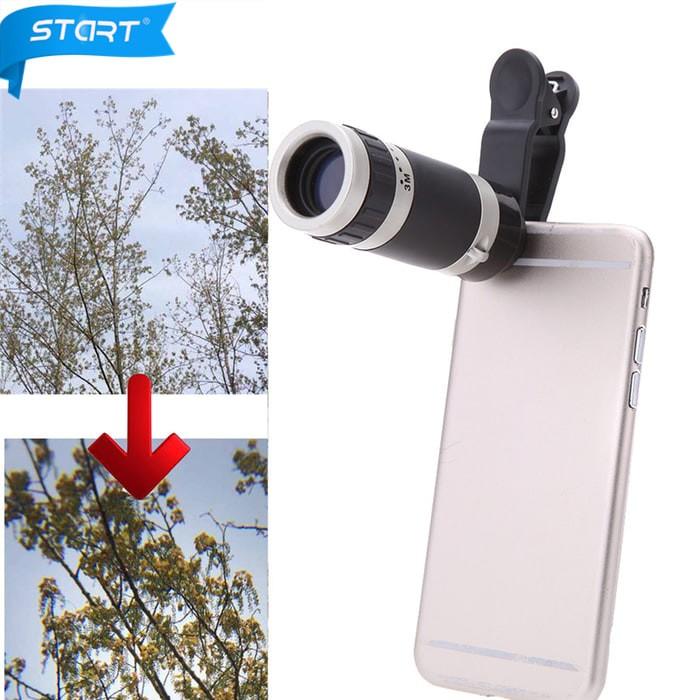harga Lensa telezom 8x for smartphone lens telescope model jepit universal Tokopedia.com