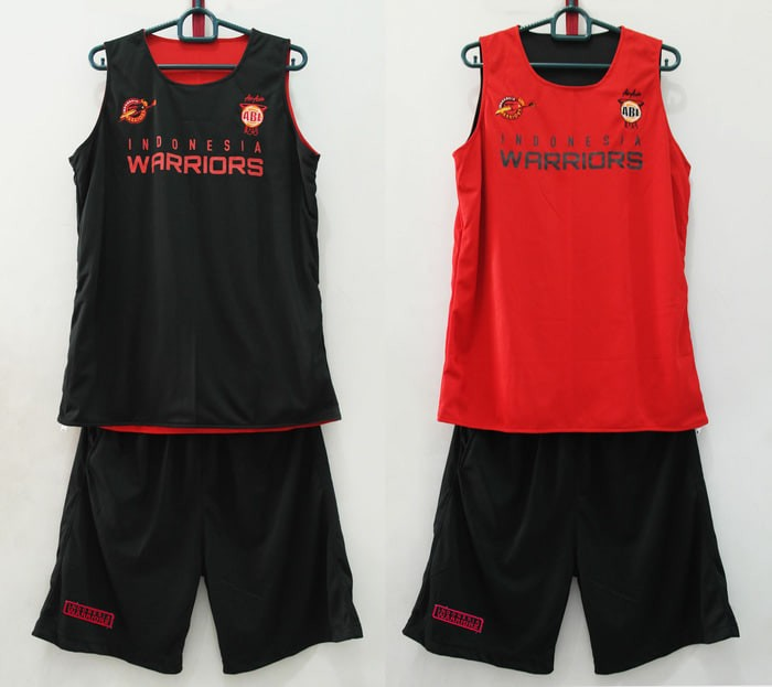 cheaper 5707f 845a4 Jual Training Jersey Basket Indonesia Warriors ( 2 sisi ) - raisa14 shop |  Tokopedia