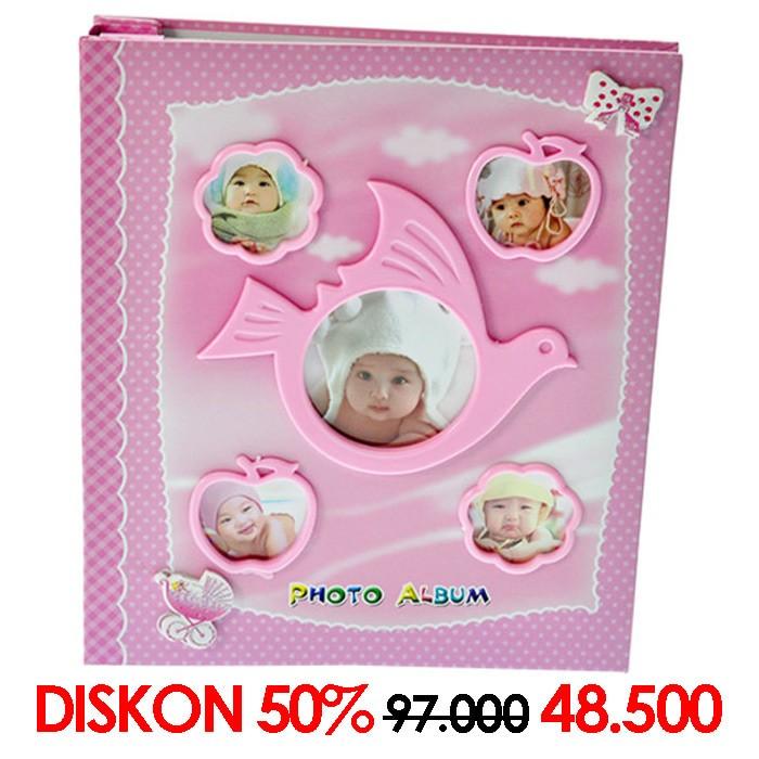 harga Album photo album 6237 80 4x6 pink (08978) Tokopedia.com