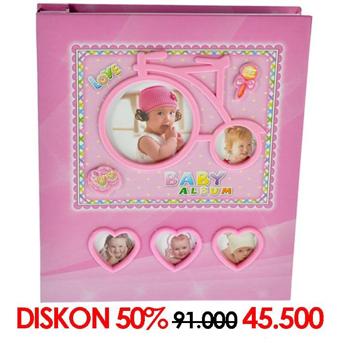 harga Album photo album 6275 80 4x6 pink (08654) Tokopedia.com