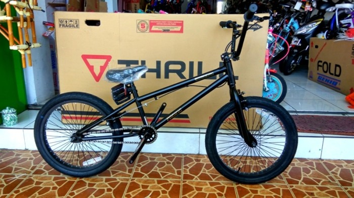 harga Sepeda Anak / Bmx 20 Pacific Black Out Freestyle Gir Kecil  Hitam Dop. Tokopedia.com