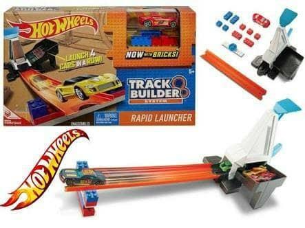 Hot wheels track builder rapid launcher