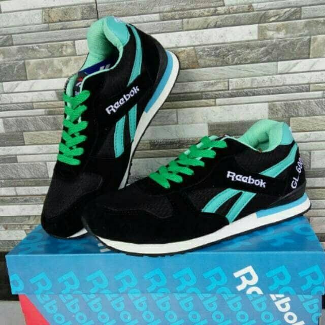 Sepatu reebok black tosca harga distributor paling murah!!! ... 920f106d43
