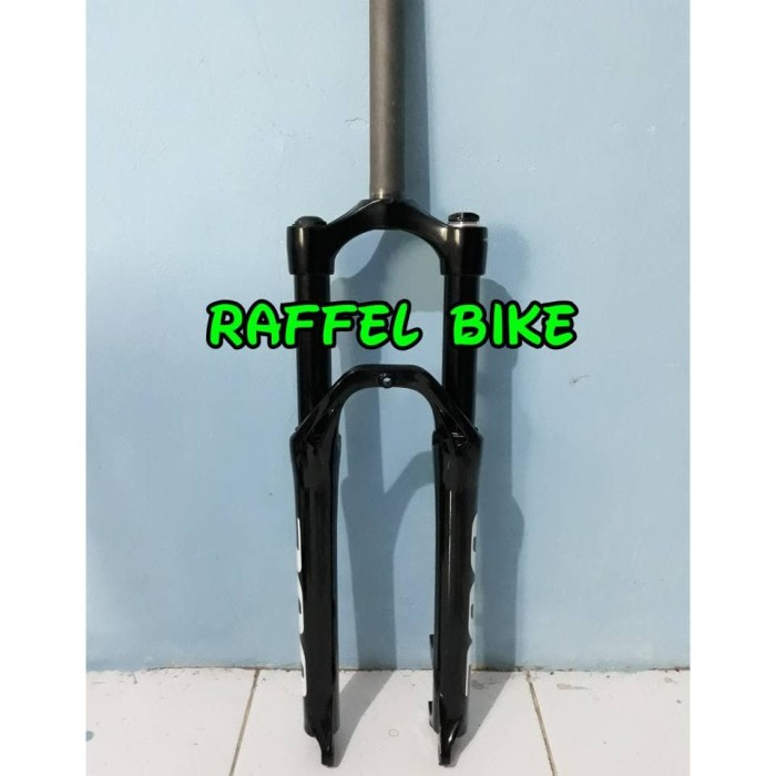 harga Termurah. fork spinner 300 black 130mm. fork mtb. fork sepeda gunung 2 Tokopedia.com