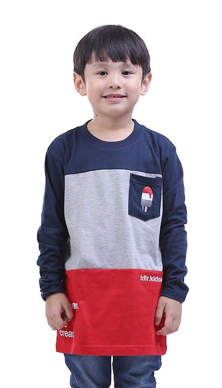 0221t kaos anak laki-laki/oblong/t-shirt anak cowoklengan panjang