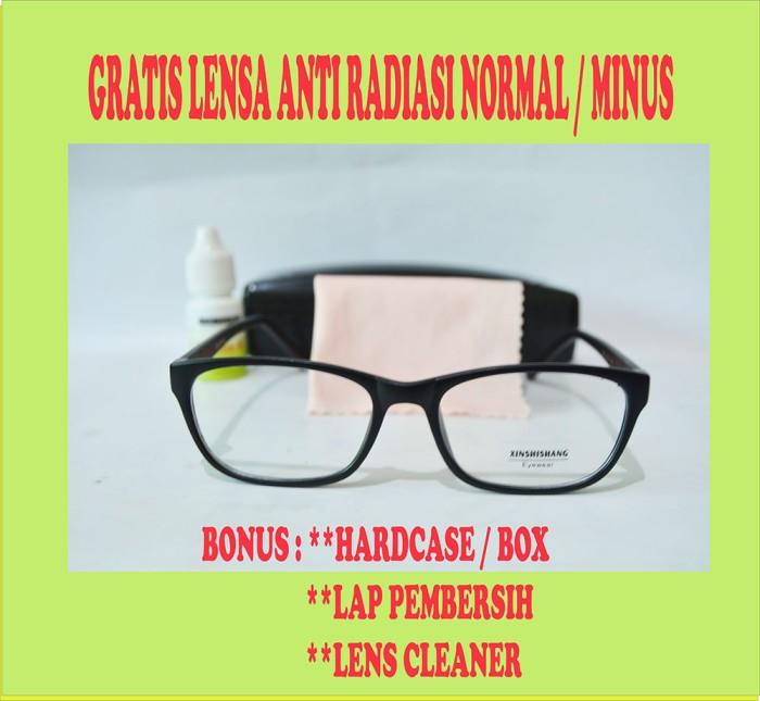 Frame kacamata minus korea xinshishang 6288 free lensa anti radiasi 73d343a951