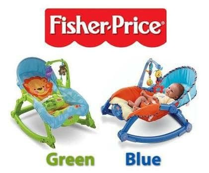 harga Fisher Price Bouncer Newborn To Toddler Portable Rocker Blue, Green Tokopedia.com
