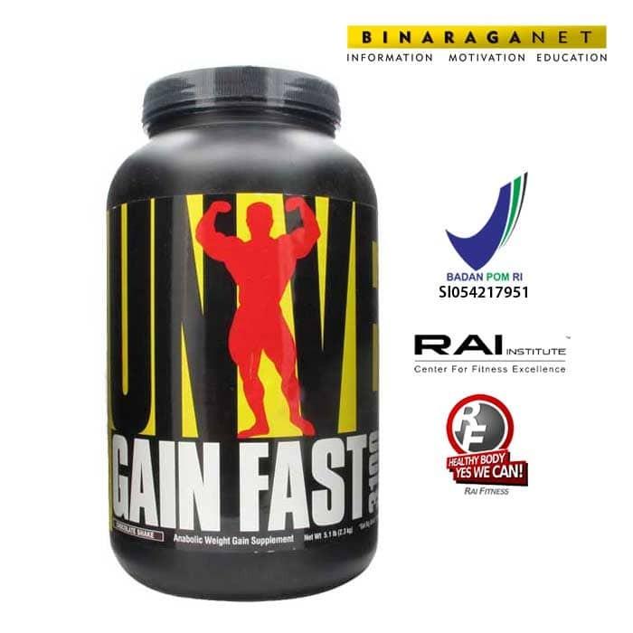 harga Gain Fast Universal Nutrition 5lbs Coklat/ Meningkatkan Berat Badan Tokopedia.com