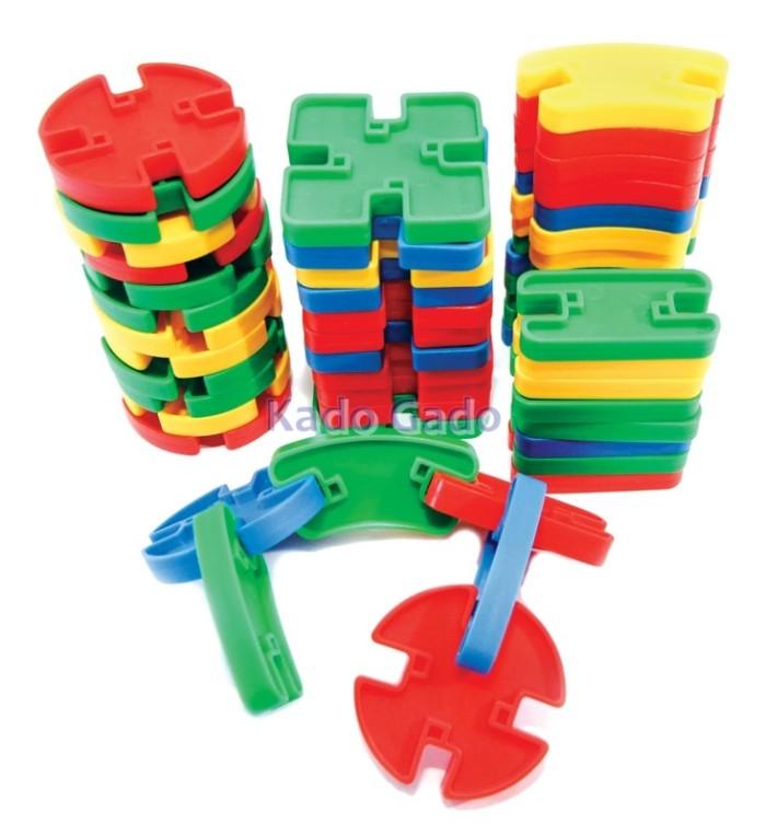 harga Mainan bricks - yaohuitoys - model tazos Tokopedia.com