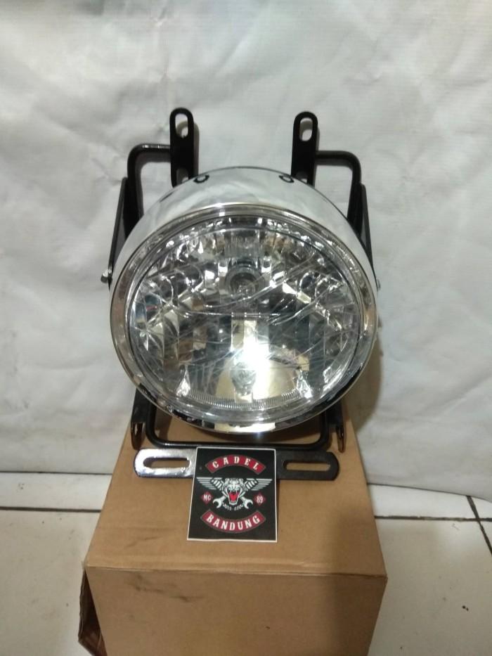 harga Braket lampu pesek old vixion set headlamp tiger revo Tokopedia.com