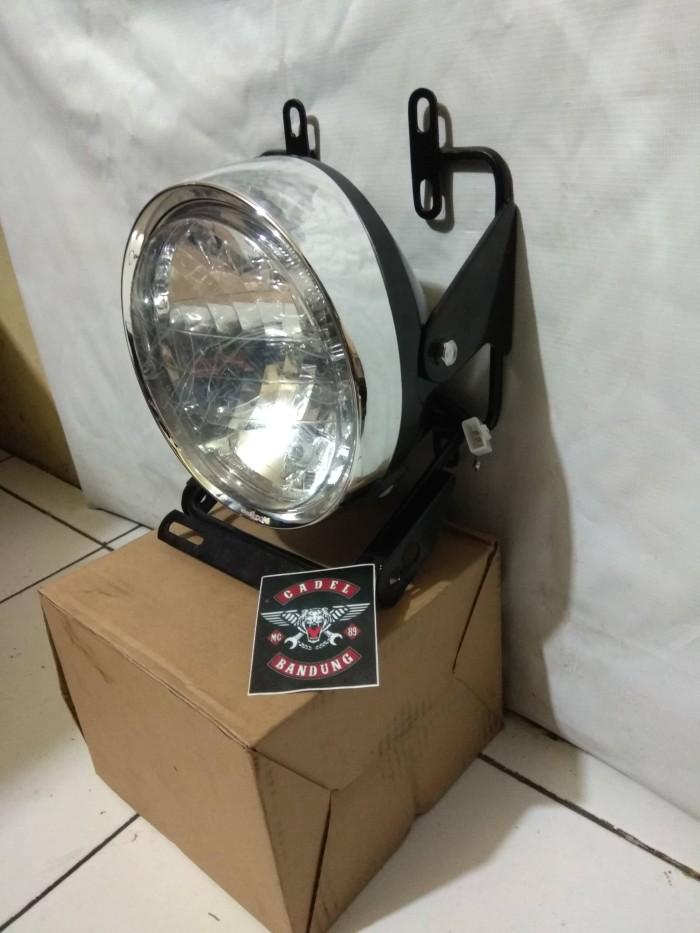 harga Braket lampu pesek new vixion lighting set headlamp tiger revo Tokopedia.com