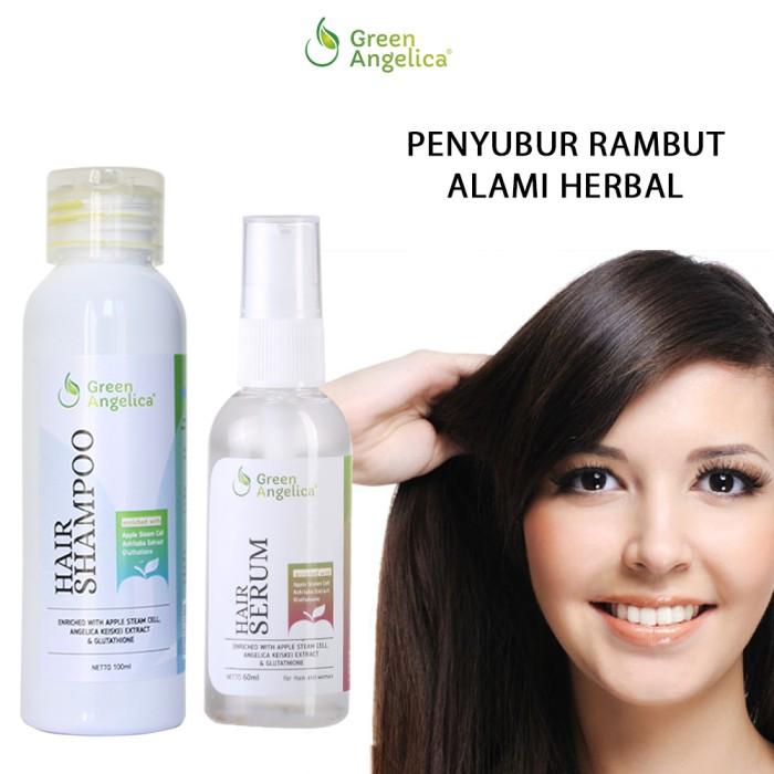 Foto Produk obat pencegah rambut rontok secara alami Green Angelica Combo 3 dari Green Angelica Herbal