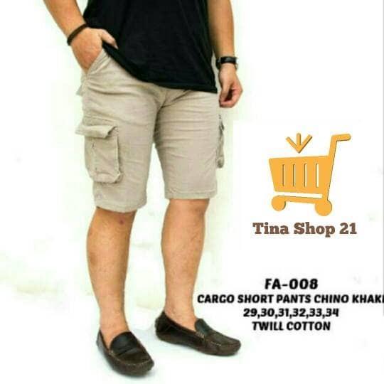 harga Celana cargo kargo cream krem coklat muda pdl kargo pendek outdoor Tokopedia.com