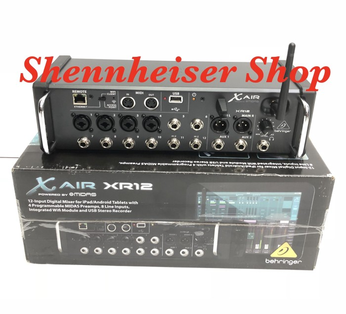 harga Mixer digital behringer x air xr-12 with wifi and usb stereo recorder Tokopedia.com