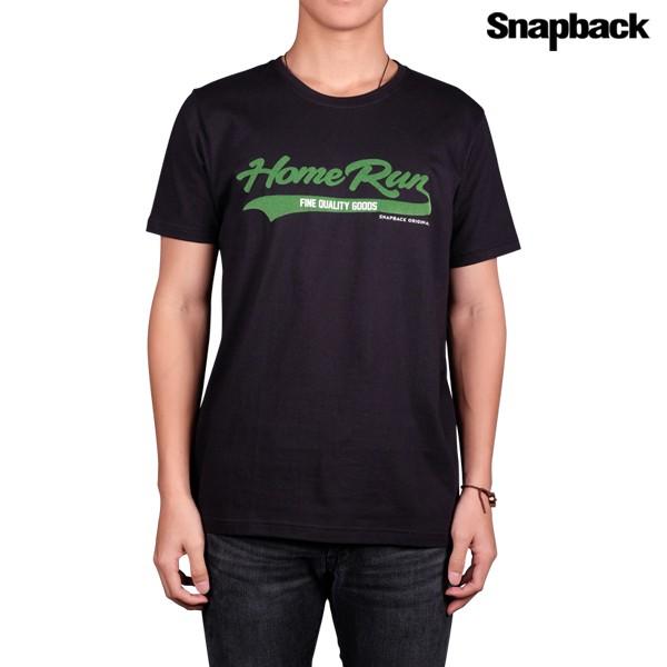Jual T-Shirt Home Run Green ( Black ) Harga Promo Terbaru