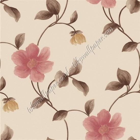 Jual Cosmo 812 Wallpaper Dinding Motif Bunga Motif Batik Bunga Kota Bekasi Home Interior Tokopedia