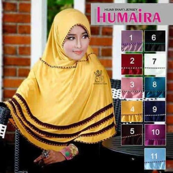 Jual New Jilbab Hijab Bergo Syar I Humaira Kota Bandung Yanika Shopee Tokopedia
