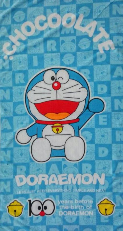 Jual Handuk Towel Gambar Kartun Disney 04 Doraemon Chocoolate Kota Batam Ze Ze Tokopedia