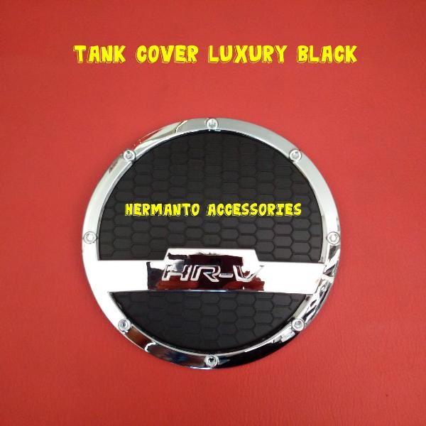 Tank cover/tutup bensin hitam hrv