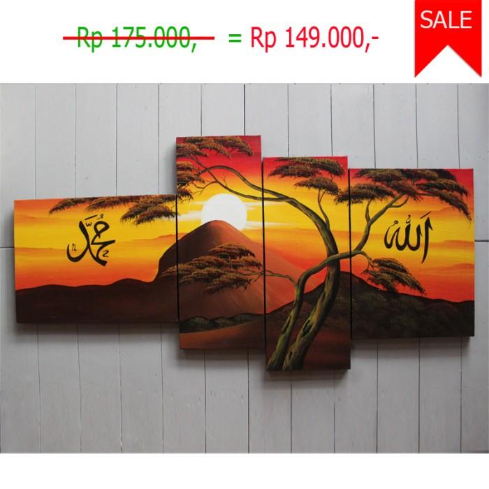 Jual Lukisan Pemandangan Kaligrafi Au 2 Kab Gianyar Sukawati Art Tokopedia