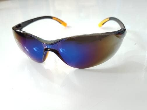 harga Asli kacamata safety glass 738-4 blue mirror suju. kacamata gaya motor Tokopedia.com
