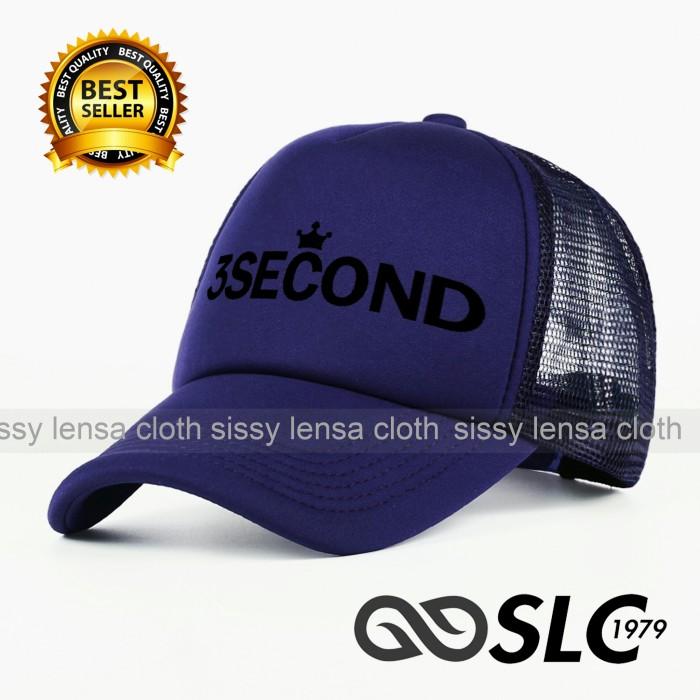 harga Topi jaring trucker 3second c15 - slc Tokopedia.com b60c25c329
