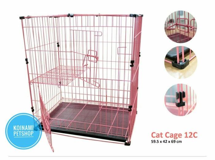 harga Kandang kucing tingkat / aksesoris kucing / makanan kucing / cat food Tokopedia.com